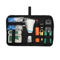 10pcskit network repair tool kit rj45 rj11 rj12 cat5 network lan cable tester rj45 crimper crimping pliers hand tool set