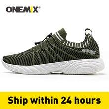 ONEMIX hommes chaussures de course formateurs confortable amortissement extérieur athlétique vulcanisé Tennis chaussures Trail baskets 350 livraison gratuite