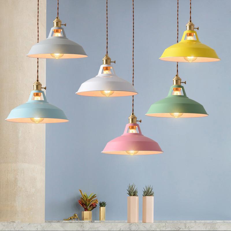 الصناعية خمر تصميم قلادة مصباح الرجعية معلقة تركيبات غرفة الطعام مطعم المطبخ بار مقهى إضاءة داخلية ديكور المنزل