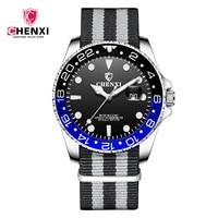 mens quartz watches man wristwatch waterproof nylon braided band date luminous casual sport watch for men relogio masculino