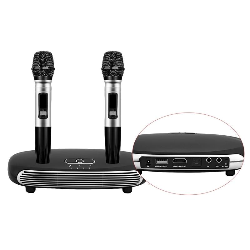 Горячий для ТВ компьютер Мобильный телефон микрофон домашний Bluetooth K Song Machine
