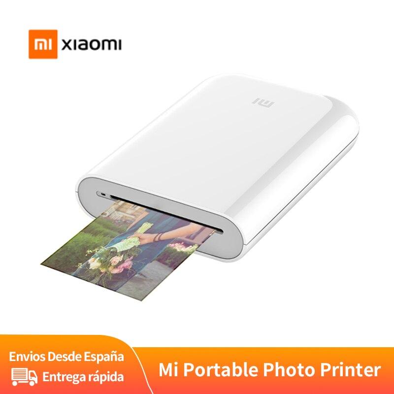 Портативный принтер Xiaomi Mijia AR 300 точек/дюйм, карманное фотоустройство, принтер «сделай сам» с Bluetooth для обмена фотографиями, 500 мАч