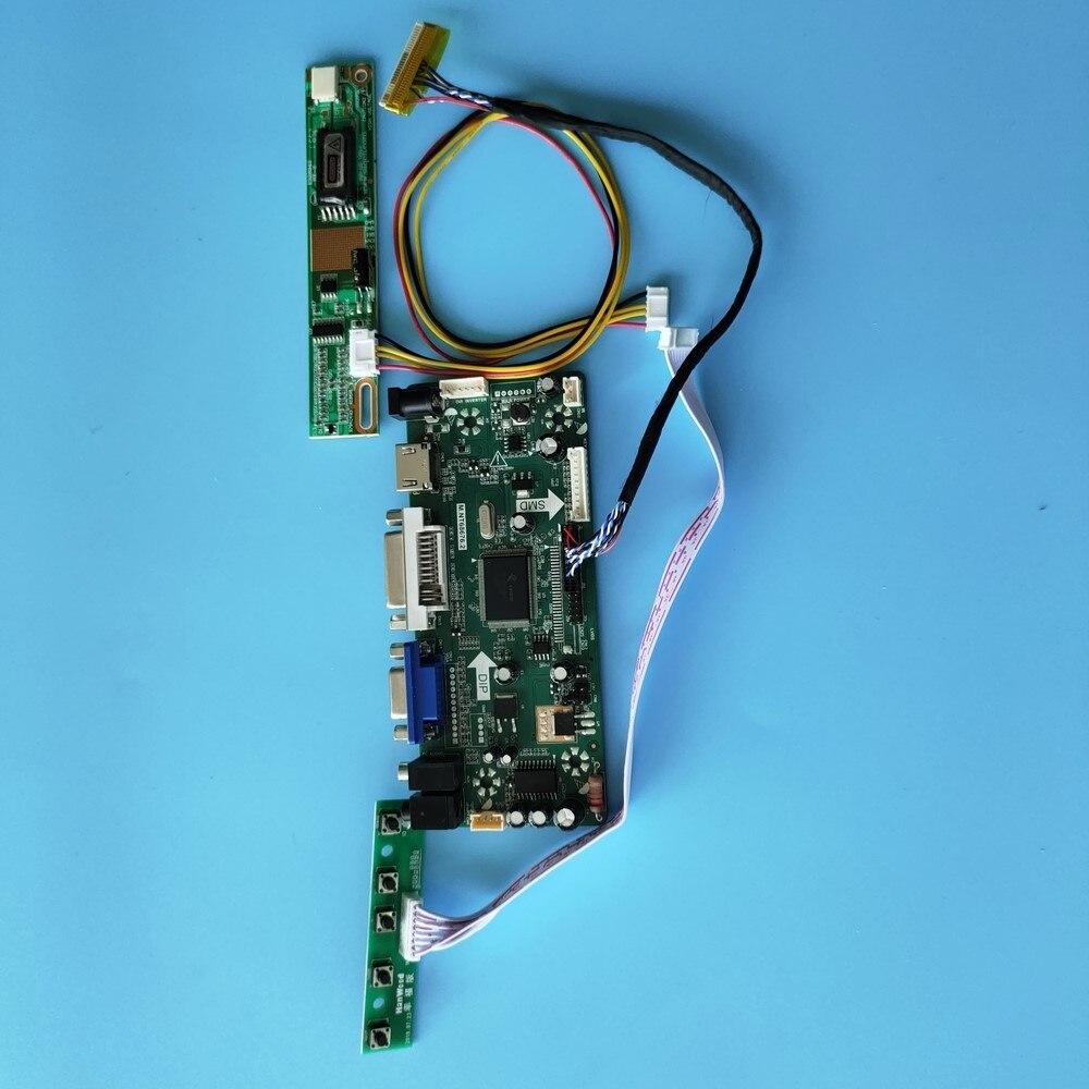 كيت ل LP141WX1-TLG1 تحكم مجلس moitor M.NT68676 عرض لوحة 1280X800 عرض شاشة HDMI + DVI + VGA LCD 30pin الصوت 14.1