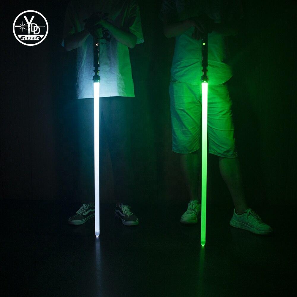 YDD Metal Hilt Single Color FOC Blaster Lightsaber High Quality Dueling Light Saber For Luke Skywalker Red And Green Light Sword enlarge