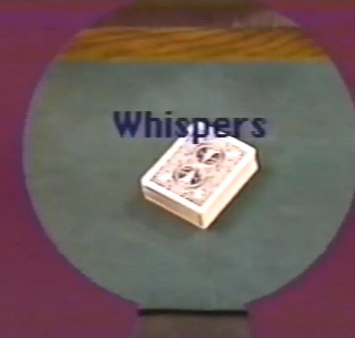 John Mendoza's Whispers Four Times Three - magic tricks
