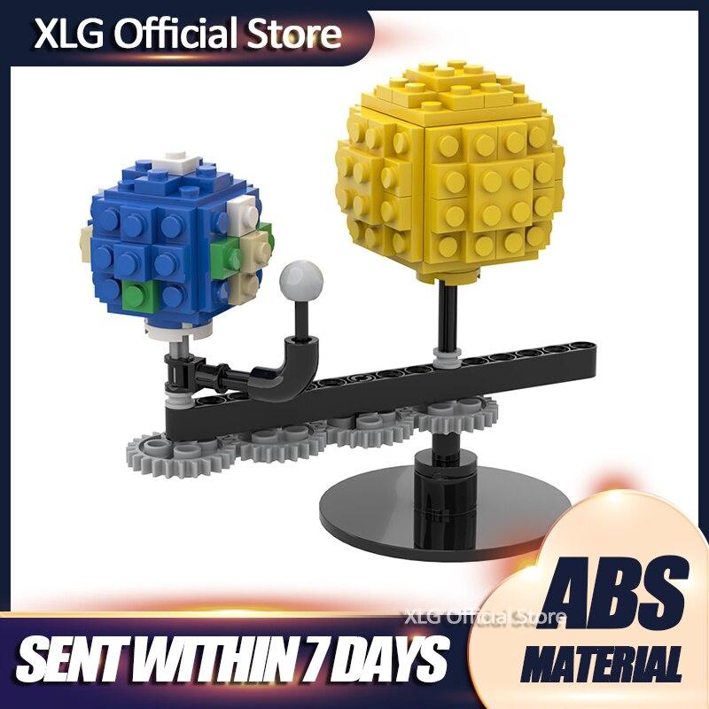 Мини-Земля Луна и солнце модель мир DIY Алмазная мини микро блок конструкторных блоков, Детские кубики, игрушки в сборе игры для детей