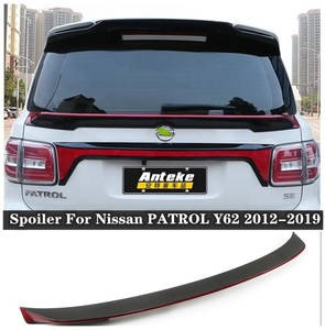 High quality ABS Rear Trunk Lip Spoiler Wing Fits For Nissan PATROL Y62 2012 2013 2014 2015 2016 2017 2018 2019