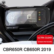 ROAOPP pellicola protettiva antigraffio per moto pellicola salvaschermo per strumenti HONDA CBR650R CB650R 2019