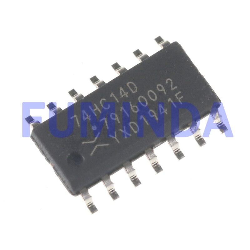 10 stücke 74HC14D 74HC14DR SOP-14 Logic chip
