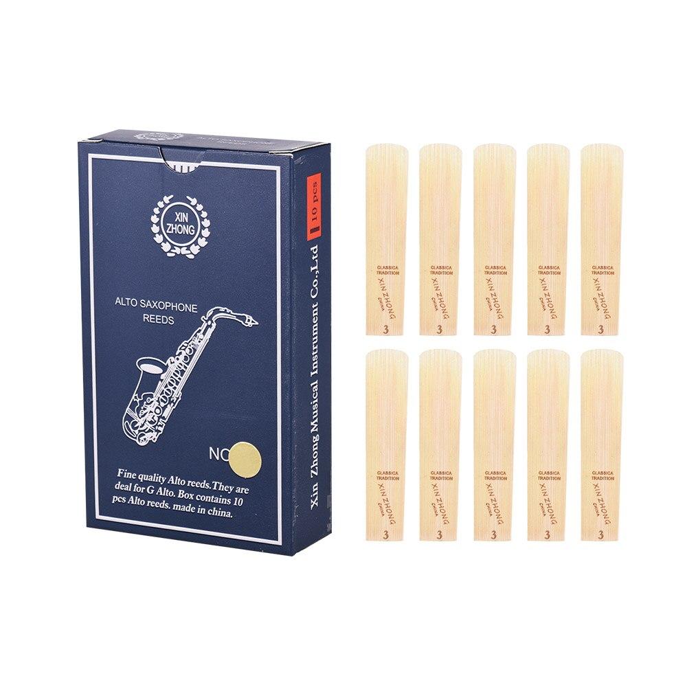 10 unids/caja G saxofón Alto Cañas nivel Normal G saxofón Alto Sax...