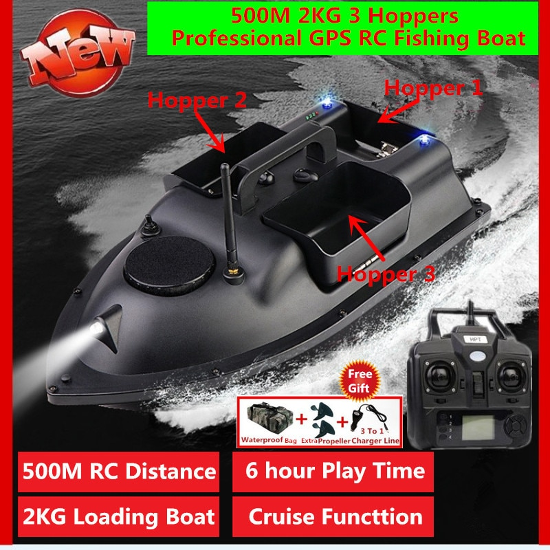 7.4V 12000mAh Battery Motor Boat Cover Propeller For FX88 Smart RC Bait Boat FX88 GPS OR No-GPS Boat Spare Part FX88 Accessories enlarge