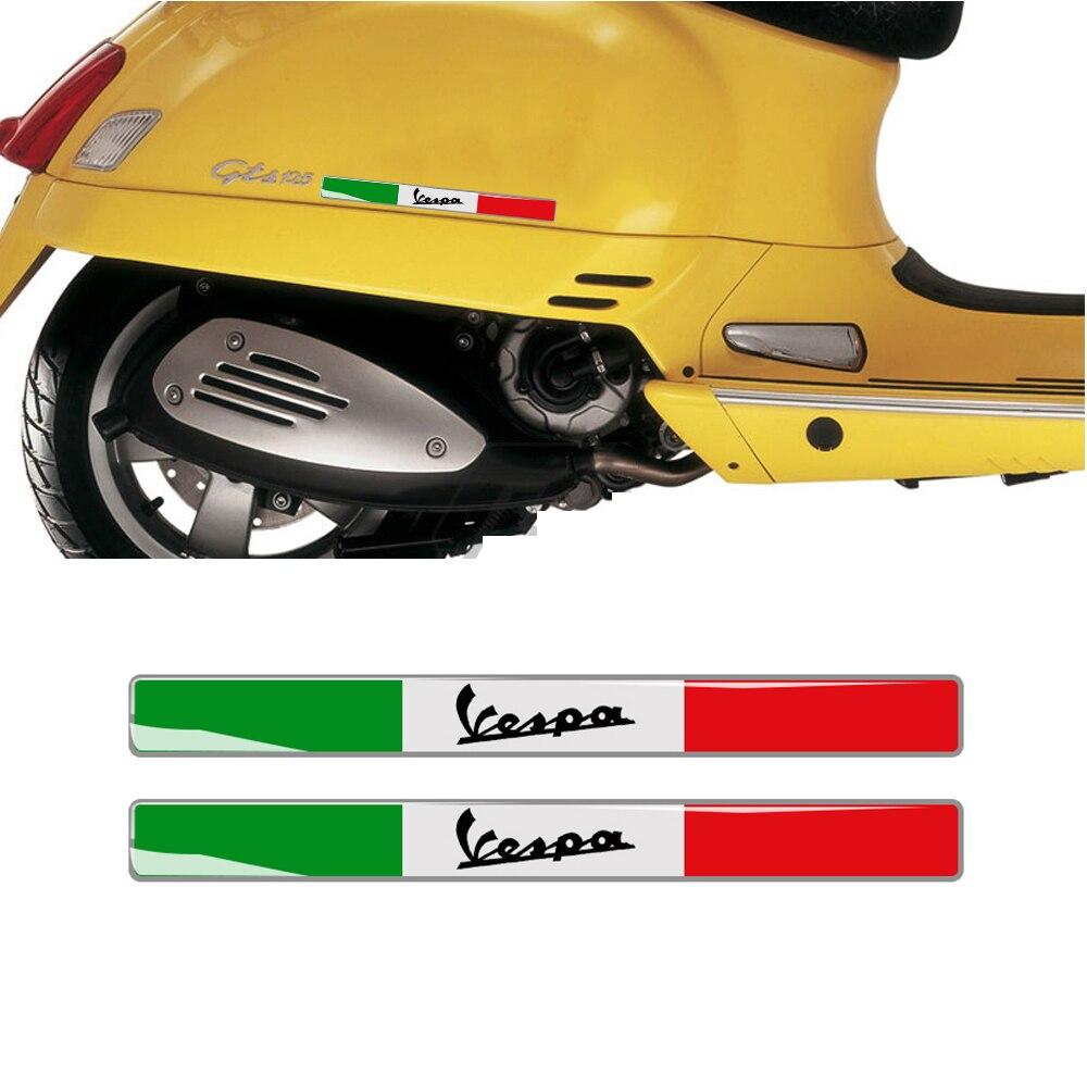3d italiano emblema emblema adesivo kit decalque para piaggio vespa gts lx125 lx150 125 150 300ie sprint primavera px lt adesivos