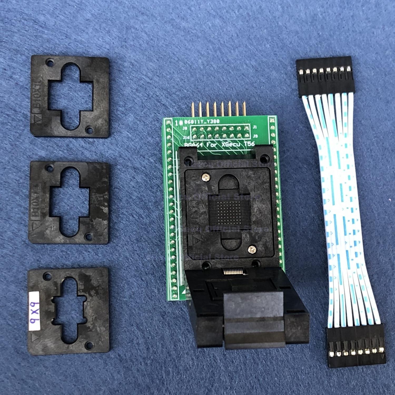 BGA64-DIP48 toma adaptador ic (XG-ADP-BGA64A-1.0) solo para programador XGecu T56