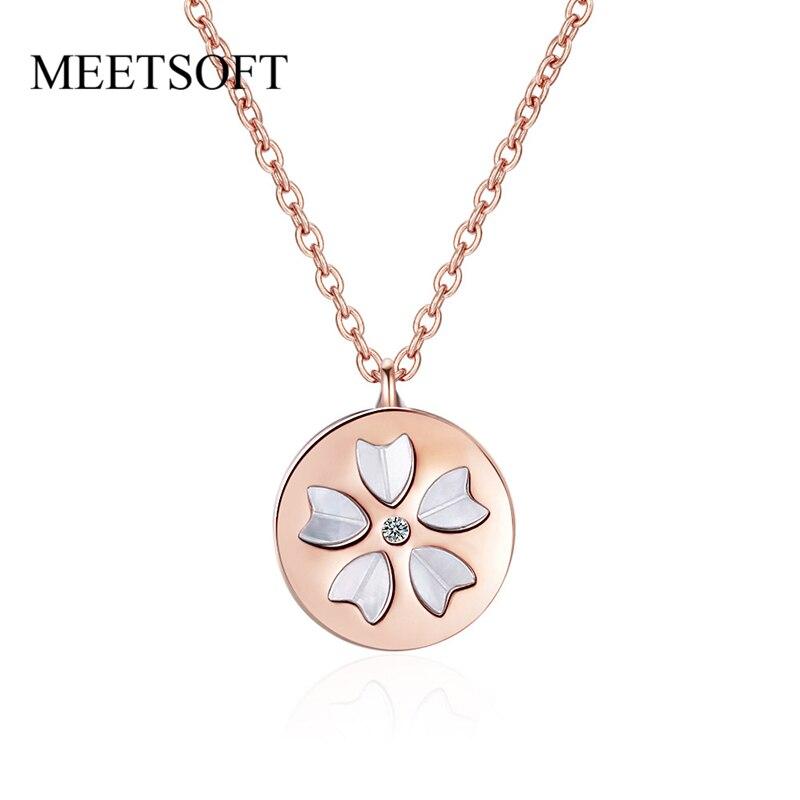 Ожерелье-чокер-ponykiss-из-стерлингового-серебра-925-пробы-с-цветком-вишни-фритиллярным-сердцем-из-циркония-ожерелье-для-женщин-Прекрасные-Юве
