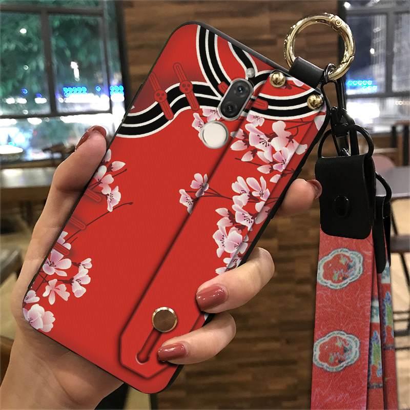 Funda de teléfono de estilo chino para Huawei Mate 10 Lite/Nova2i, funda para teléfono antigolpes pintada y delicada a la moda