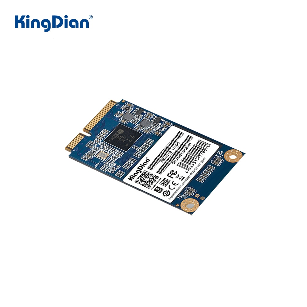 KingDian-قرص صلب MSATA SSD ، 32 جيجابايت ، 60 جيجابايت ، 120 جيجابايت ، 240 جيجابايت ، 480 جيجابايت ، 1 تيرا بايت