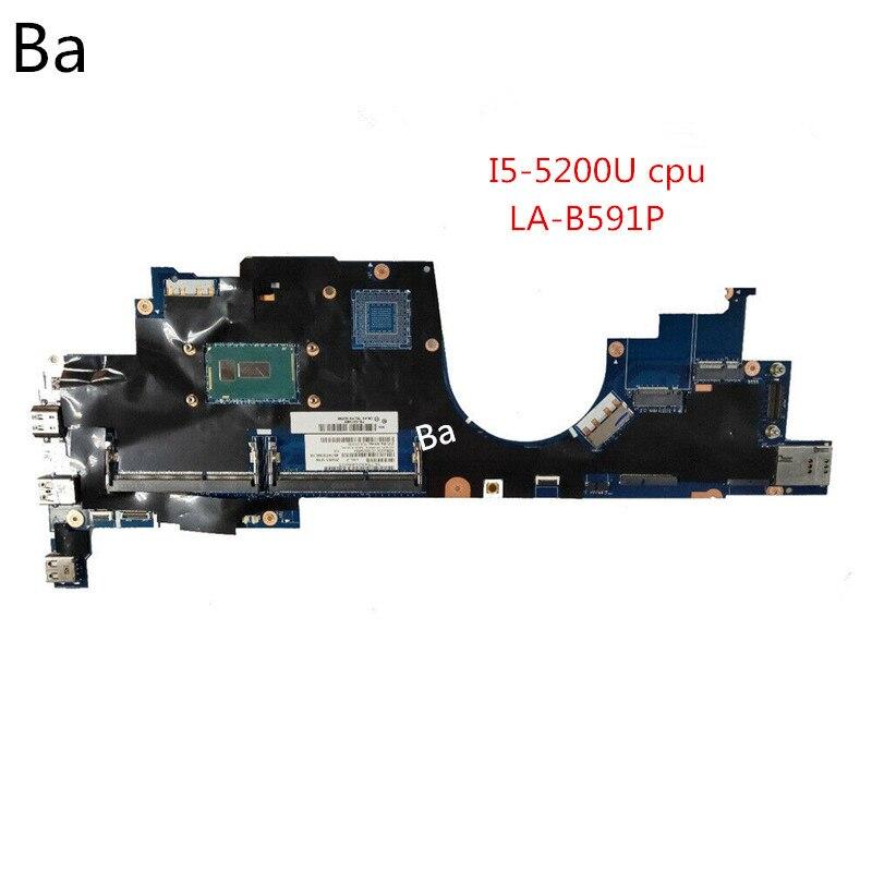 لينوفو ثينك باد اليوغا S5 15 اللوحة المحمول I5-5200U CPU المتكاملة الرسومات بطاقة LA-B591P اللوحة اختبارها بشكل كامل