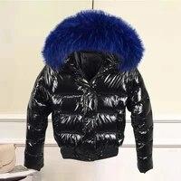 womens jacket winter hooded warm winter coat female parkas glossy waterproof outerwear
