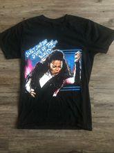 Janet Jackson état du monde Tour 2017 noir Concert chemise taille petit