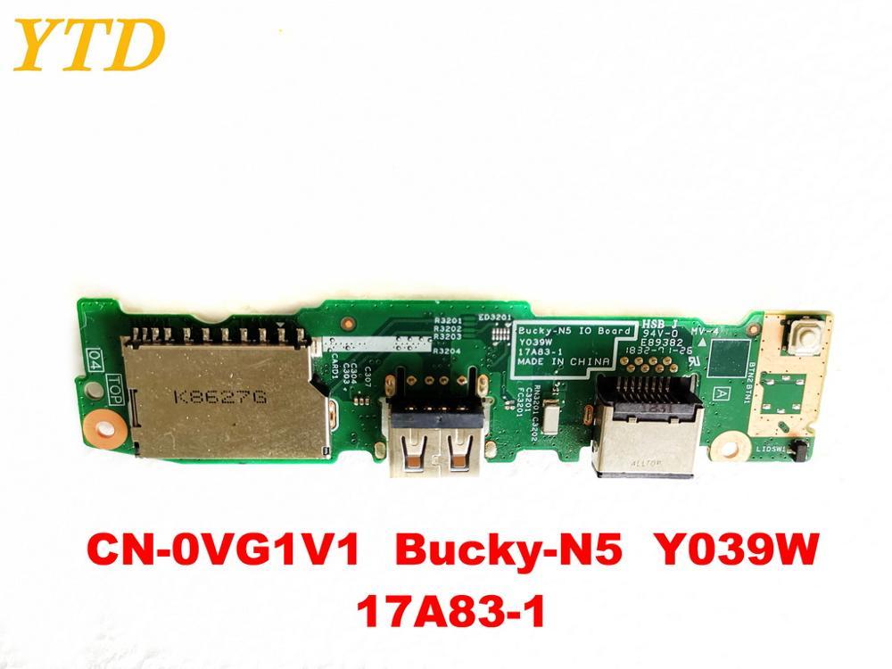 الأصلي لديل Bucky-N5 USB مجلس CN-0VG1V1 Bucky-N5 Y039W 17A83-1 اختبار جيد شحن مجاني