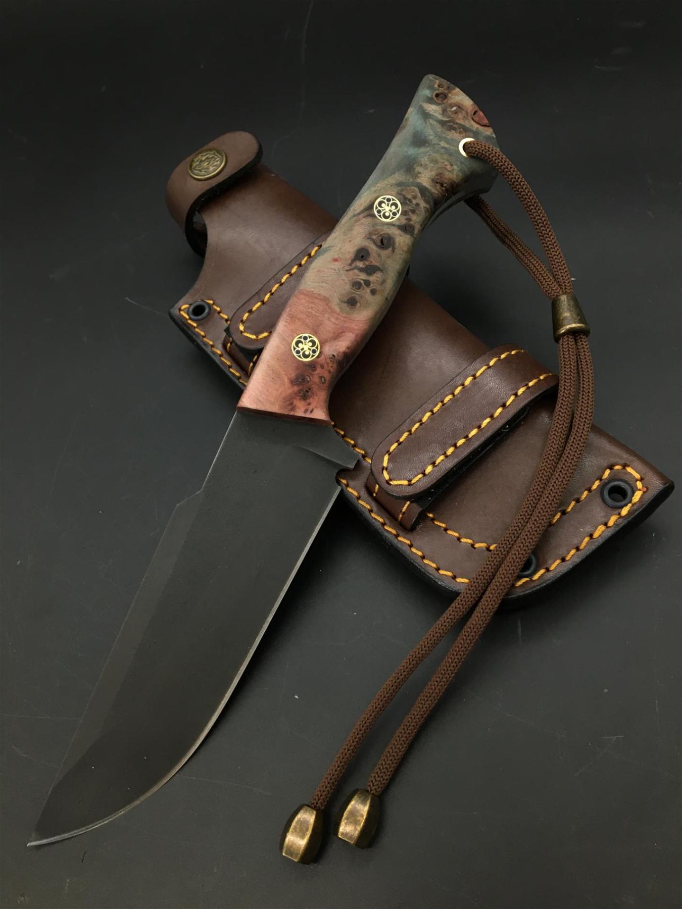 Handmade Uddeholm Sleipner Knife TK81