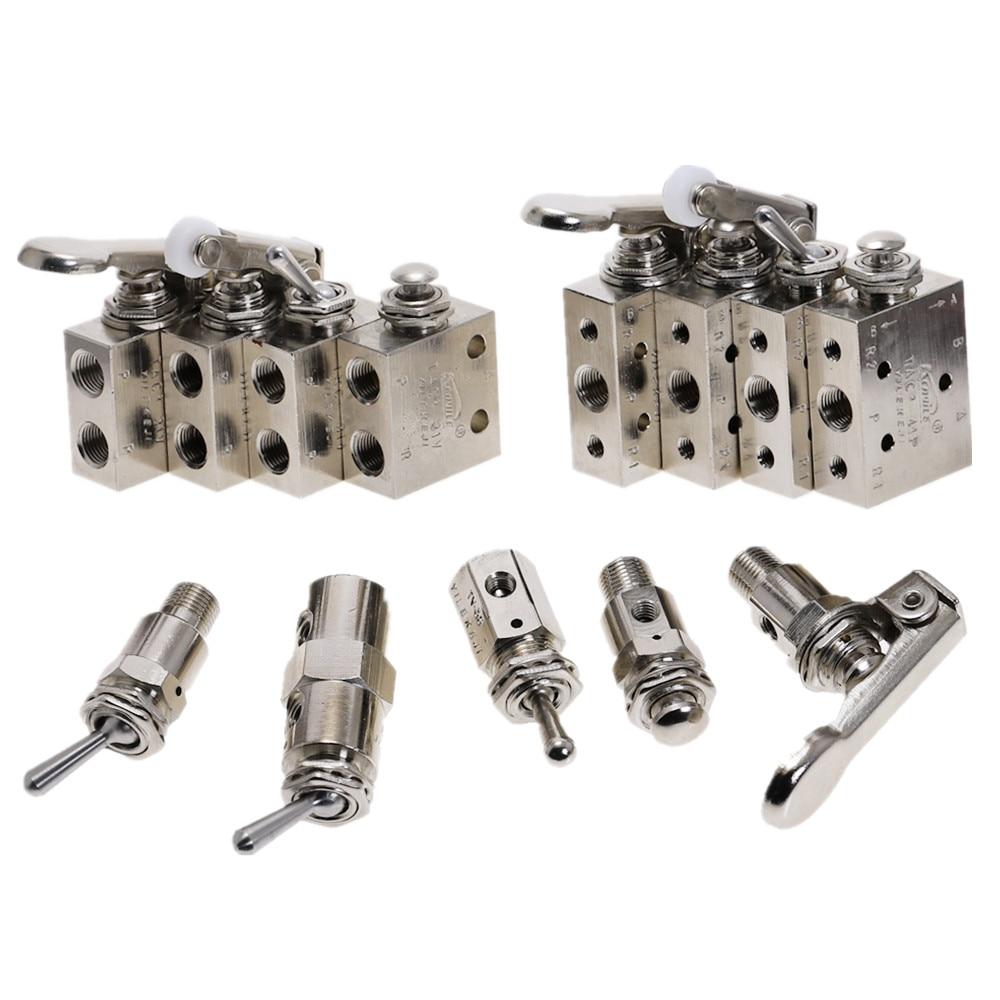 Пневматический Механический клапан, 1 шт., TAC2-31V, 3P, 3S, 4 в, 4P, пневматический кнопочный переключатель