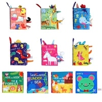 early childhood education cloth book parent child interactive sound paper baby book washable dinosaur ocean tail cloth book toy