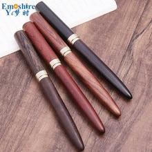 Creatieve Hout Balpen Retro Business Kantoor Handtekening Pen Custom Enterprise LOGO Wijnmakerij Bedrijf Gift Balpen P770