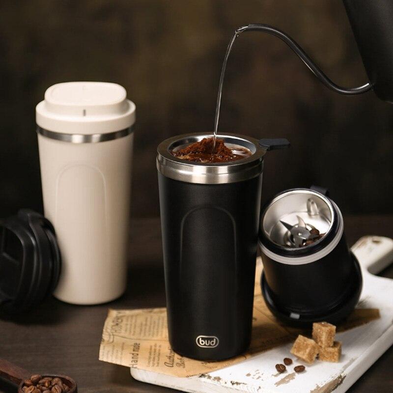 Máquina de café portátil Youpin BUD, Molinillo Eléctrico de café en polvo, taza de cápsula, máquina de expreso, Mini cafetera