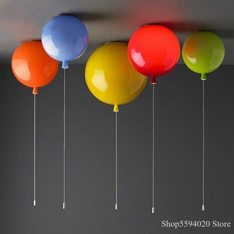 luzes de teto led simples sala de criancas cor do quarto lampada de teto criativa