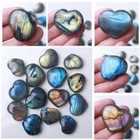 madagascar natural labradorite polished heart quartz crystal rock home decor