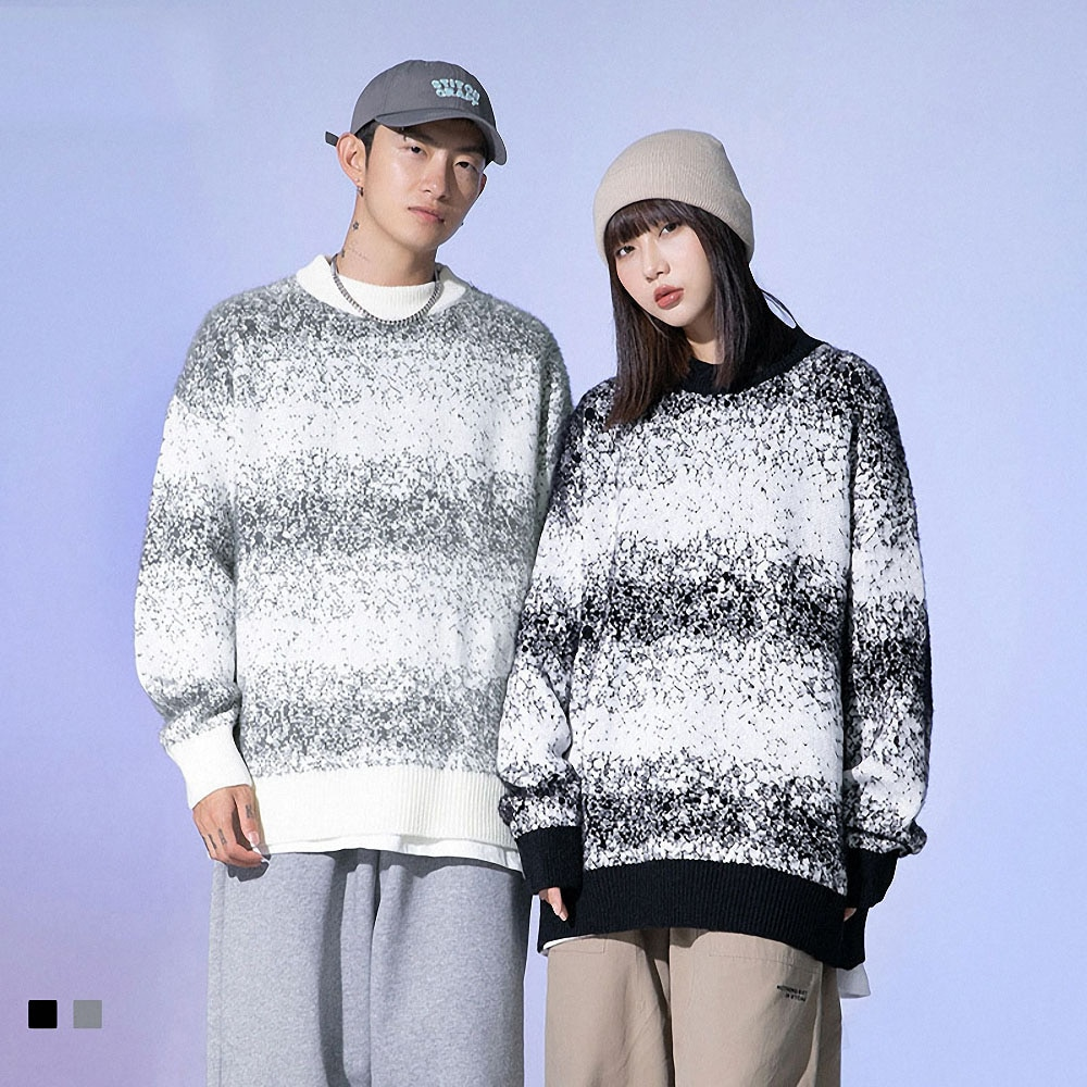 Mens Oversize Sweaters Pullovers Hip Hop Streetwear Harajuku Girl Knitted Loose Hip Hop Casual Woman Fashion Casual Tops Coats