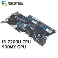 nokotion laptop motherboard for hp probook 440 g4 913100 001 913100 601 913100 501 da0x81mb6e0 930mx gpu i5 7200u cpu