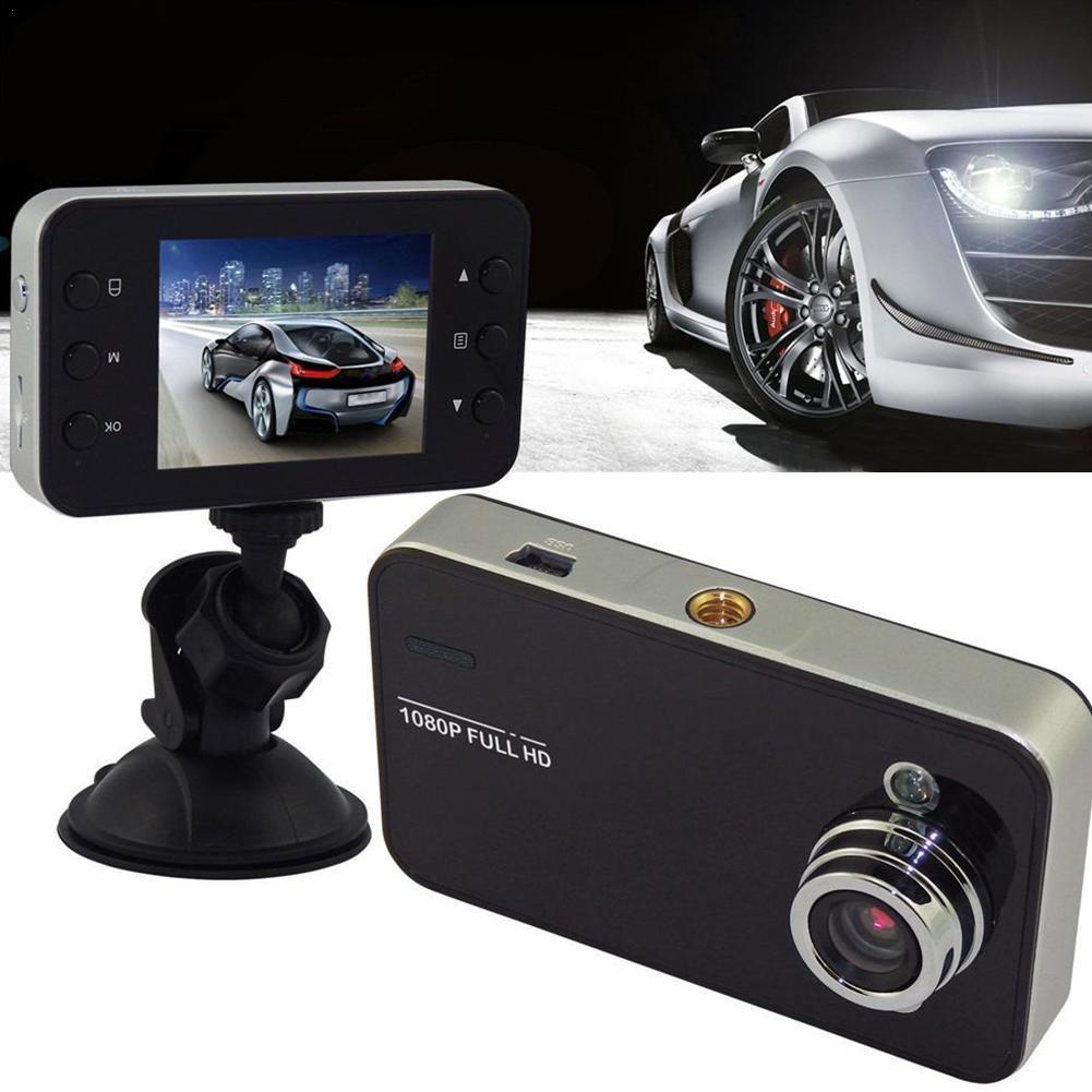 2.4inch LCD Car DVR Black Dashboard Night Vision Camera Video Mini Loop Dash Recording Cam DVRs Recorder K5M0