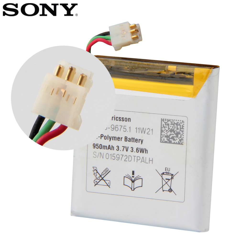 Original SONY Battery For SONY E10i X10 mini X10MINI 950mAh Authentic Phone Replacement Battery enlarge