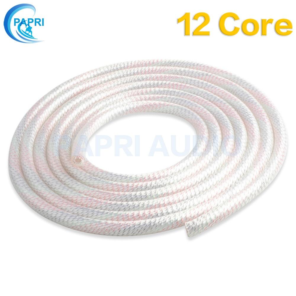 PAPRI Newest Nordost Odin Valhalla Audio 7N copper Wire Silver Plated DIY Custom 9 core 12 core speaker cable