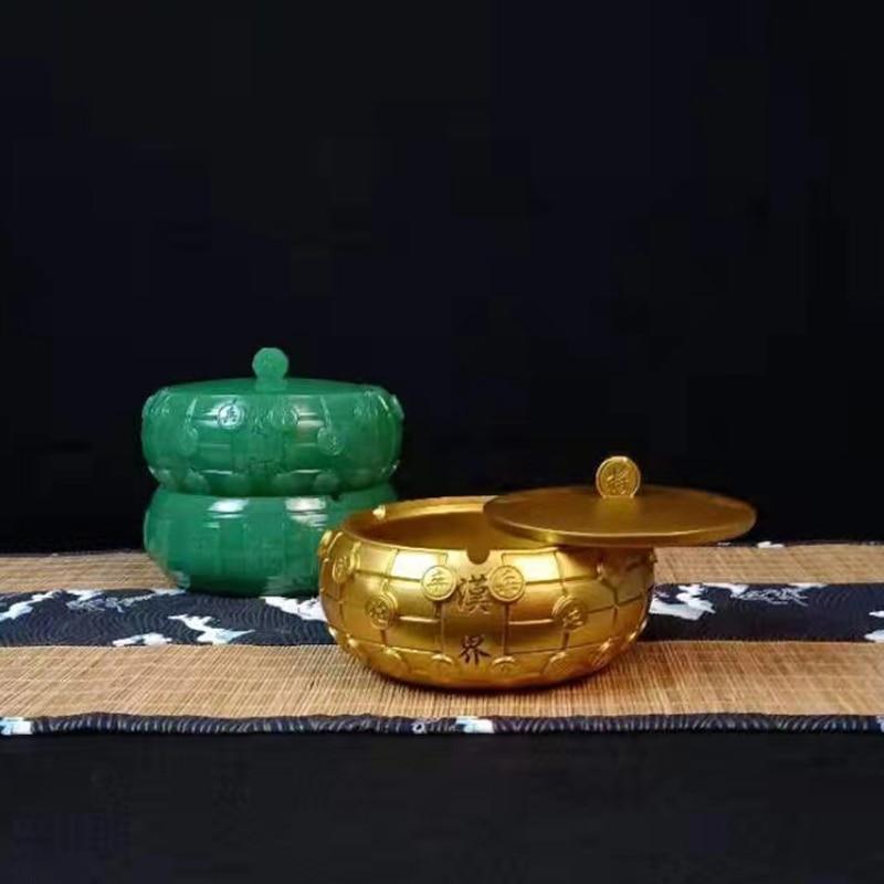 الإبداعية الصينية الشطرنج جونغ صندوق مجوهرات حالة رجل الصنع اليشم حجر مكتب تخزين المنزل اكسسوارات ديكور المنزل