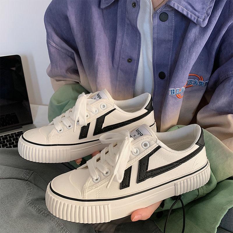 Женские холщовые эспадрильи, белые кроссовки в стиле пэчворк, повседневная обувь для осени, 2021