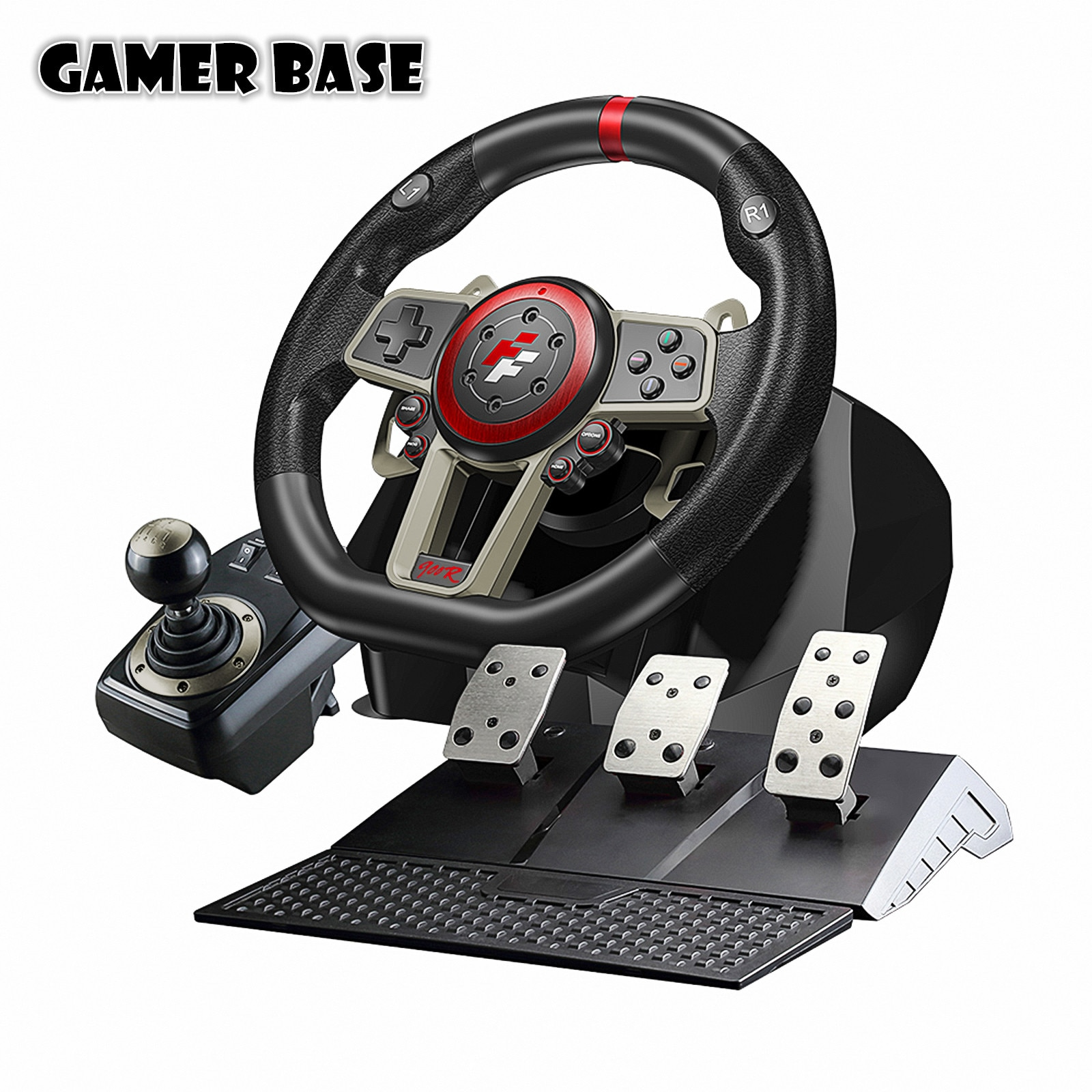 360 Racing Steering Wheel For PC/PS3/PS4/Switch/Xbox One/Xbox Game Steering Vibration Joysticks Remote Controller Wheels Drive