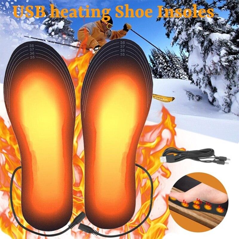 Plantillas para los pies, calentador de pies, con calienta de pies
