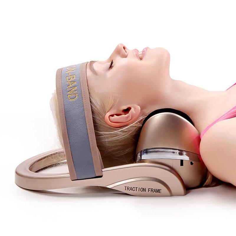 Relaxation Massage Pillow Vibrator Electric Neck Shoulder Heating Smart Remote Pillow Neck Massager,EU Plug enlarge