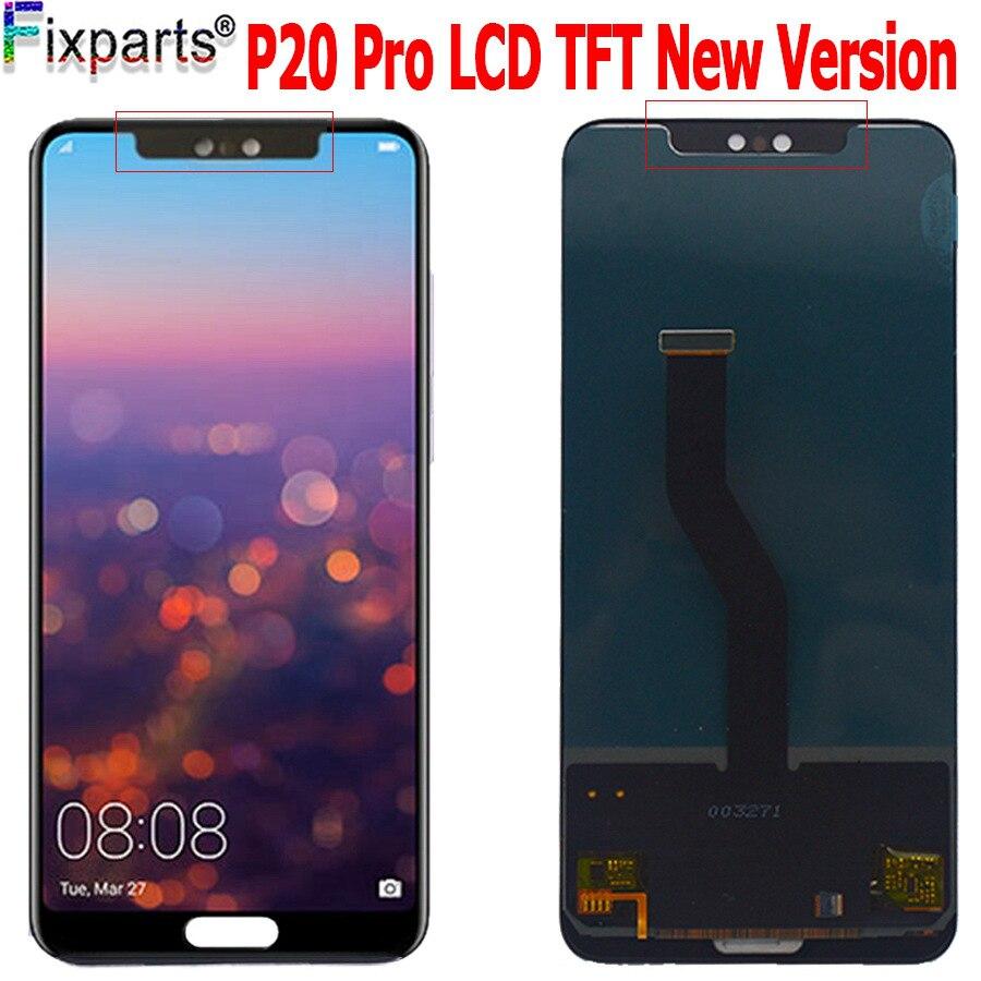 Calidad AAA para Huawei P20 Pro LCD Display MONTAJE DE digitalizador con pantalla táctil P20 Pro pantalla con marco para Huawei p20 plus pantalla