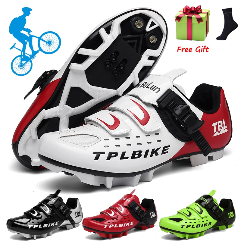Professional Athletic Bicycle Shoes MTB Cycling Shoes Men Self-Locking Road Bike Shoes Sapatilha Ciclismo Women Cycling Sneakers