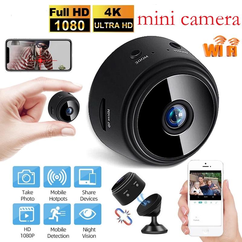 Mini Camera A9 1080P HD IP Camera IR Night Vision video Motion Detection Mini Camcorders Surveillance Camera Wifi Camera