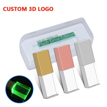 Fashionable Crystal Style USB Flash Real capacity Pen Drive USB 8GB 16GB 32GB 64GB Waterproof USB 2.0 Pen drive Creative Gifts