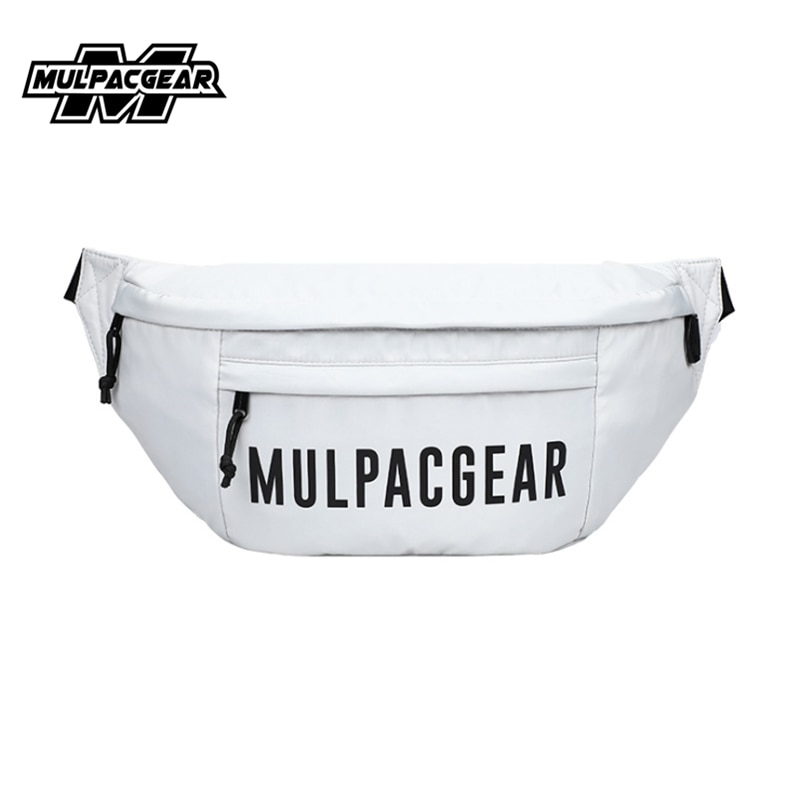 2021 MULPACGEAR Fashion Waterproof Man Crossbody Chest Bags Large Capacity Polyester Fanny Bags for Male
