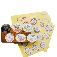 120pcslot diffrent five beautiful flowers styles sealing stickers kawaii stickers stationary for wedding birthday party gifts