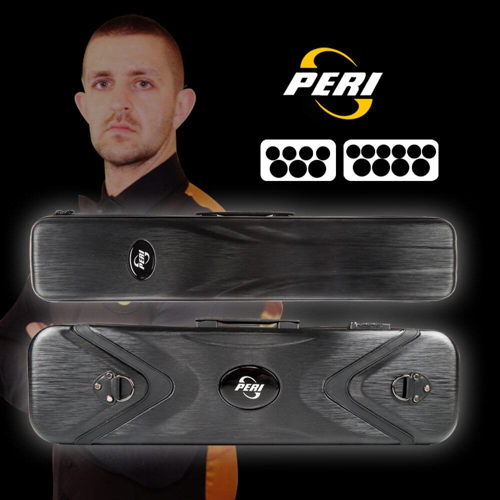 Offical PERI Black Diamond Cue Case 7/10 Holes Case Password Box Multi-piece Rod Box Waterproof PC Meterial Billiard Accessories