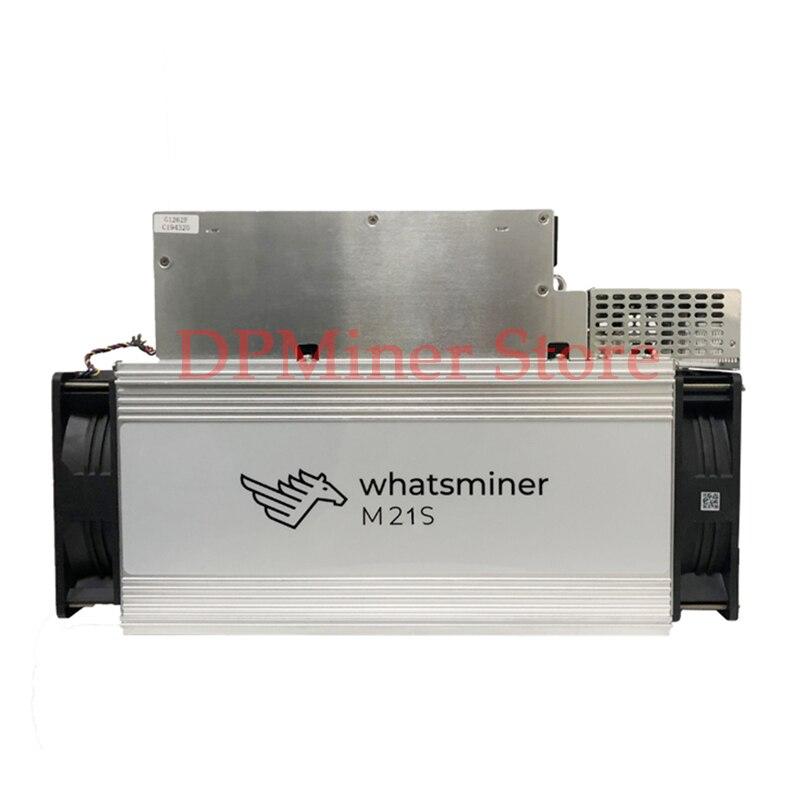 Used Whatsminer M21S/52T 3120W Bitmain Blockchain Miner Bitcoin Asic Miner Mining Machine