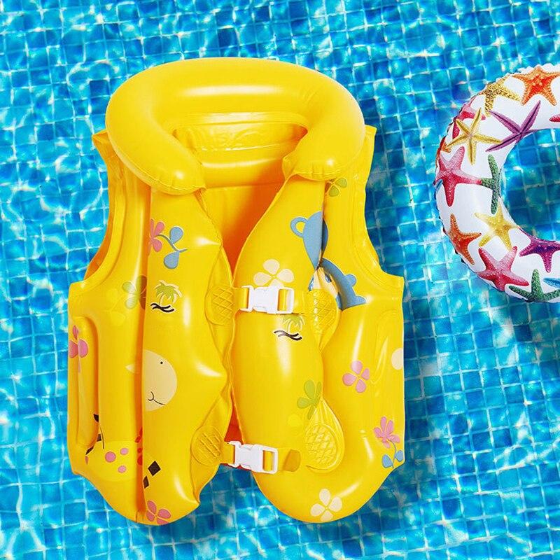 Cartoon Children'S Life Wear Buoyancy Vest Cute Baby Floating Suit Swimming Foam Belt Safety Buckle Environmental Protection